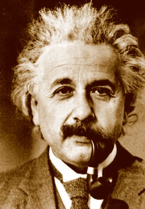 "Einstein received the 1921 Nobel Prize in Physics ""for his services to"
